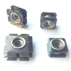 Double Spring Threaded Star Tube Insert Connectors
